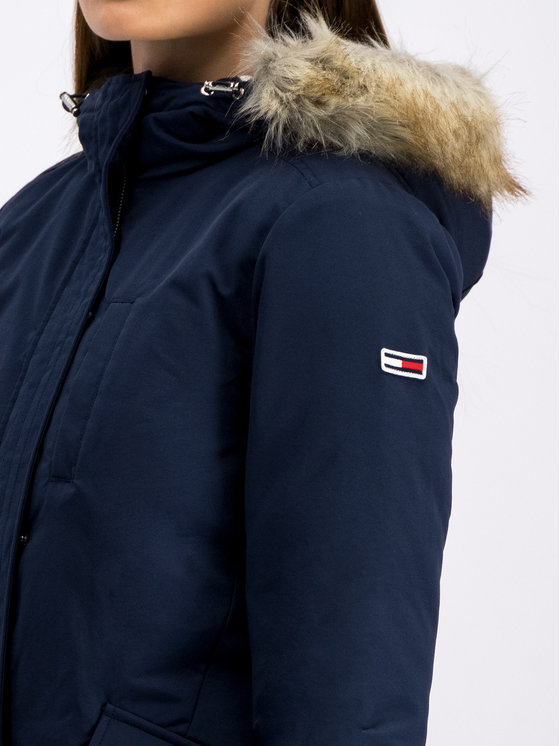 Tommy Jeans Tommy Jeans Cappotto invernale Tjw Technical DW0DW07107 Blu scuro Regular Fit