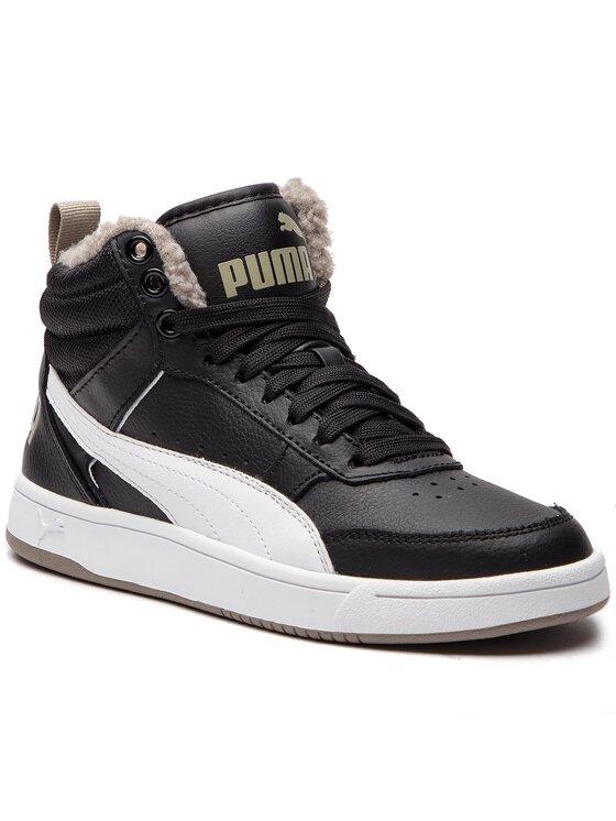 Puma Puma Сникърси Rebound Streetv2 Fur Jr 363919 04 Черен