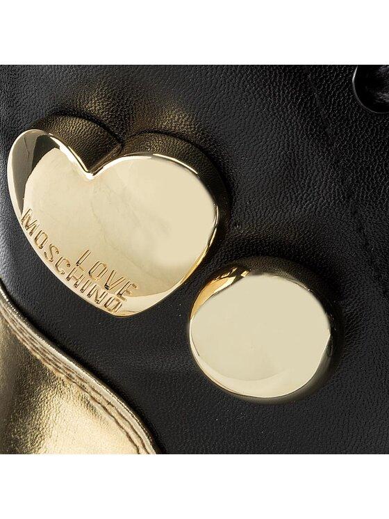 LOVE MOSCHINO LOVE MOSCHINO Trampki JA15213G04JF100A Czarny
