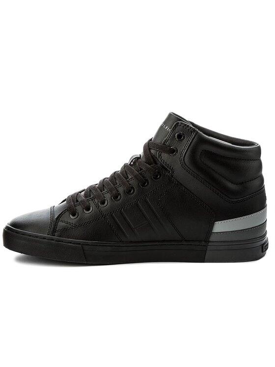 Tommy Hilfiger Tommy Hilfiger Sneakersy Jay 10 FM0FM00912 Čierna