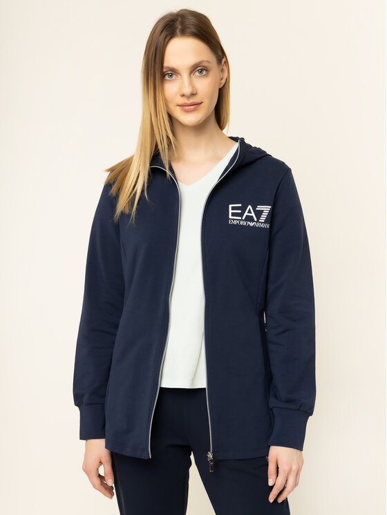 EA7 Emporio Armani EA7 Emporio Armani Μπλούζα 3HTM23 TJ31Z 1554 Σκούρο μπλε Slim Fit