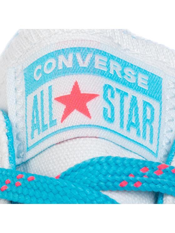 Converse Converse Sportbačiai Ctas Ox 564348C Balta