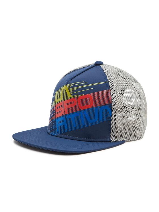 La Sportiva Kepurė su snapeliu Trucker Hat Stripe Y41618907 Tamsiai mėlyna