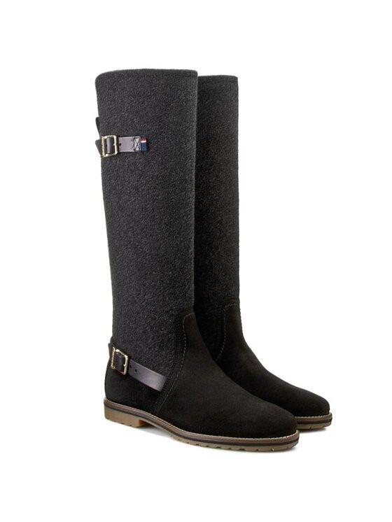 Tommy Hilfiger TOMMY HILFIGER Μπότες Ιππασίας Wendy 7C FW56820022