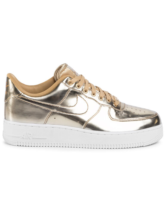 Nike Nike Buty Air Force 1 Sp CQ6566 700 Złoty