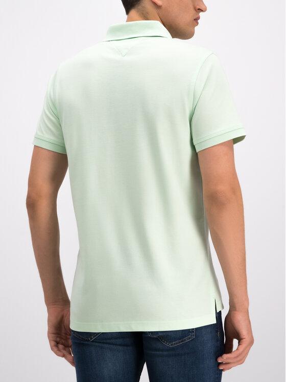 Tommy Hilfiger Tommy Hilfiger Polo marškinėliai MW0MW10764 Žalia Slim Fit
