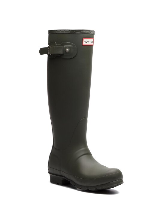 Hunter Guminiai batai Original Tall WFT1000RMA Žalia