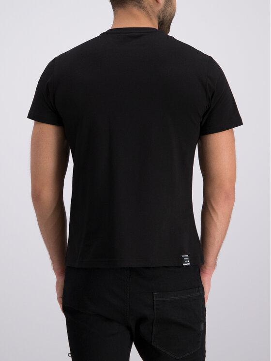 Versace Jeans Versace Jeans Marškinėliai B3GTB76S Juoda Slim Fit