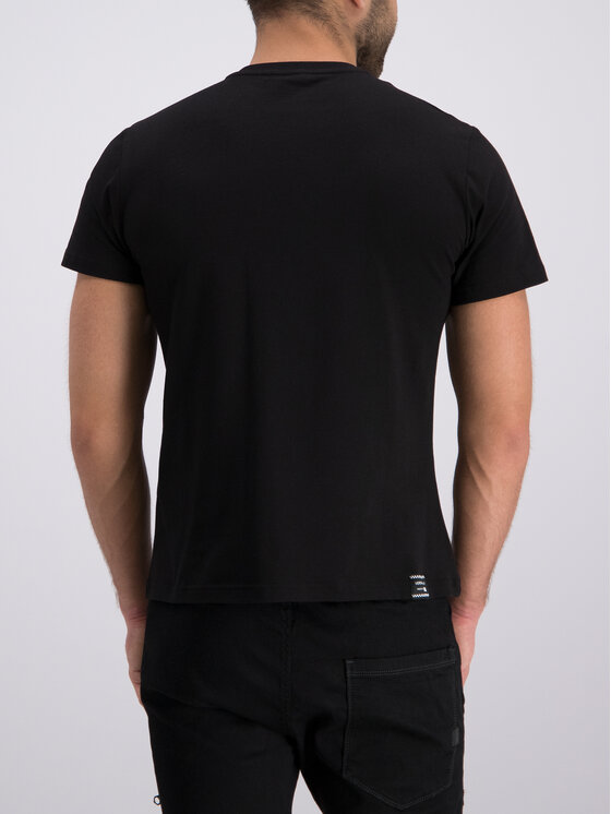 Versace Jeans Versace Jeans Póló B3GTB76S Fekete Slim Fit