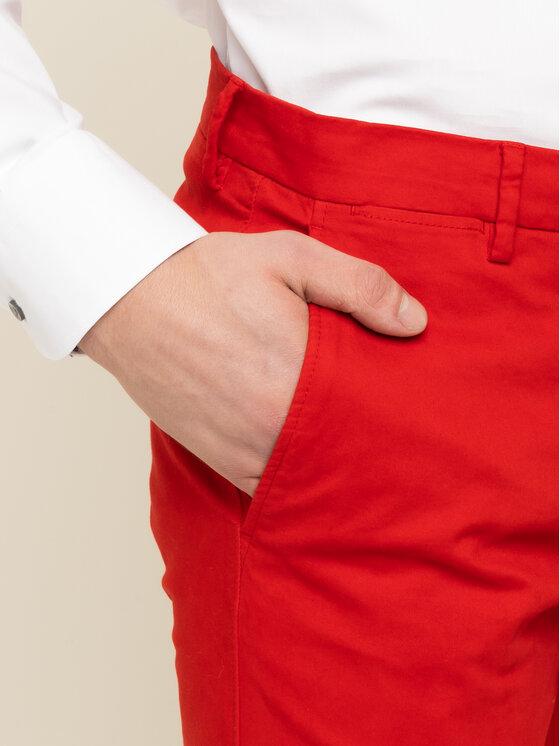 Tommy Hilfiger Tailored Tommy Hilfiger Tailored Παντελόνι υφασμάτινο Flex TT0TT06924 Κόκκινο Slim Fit