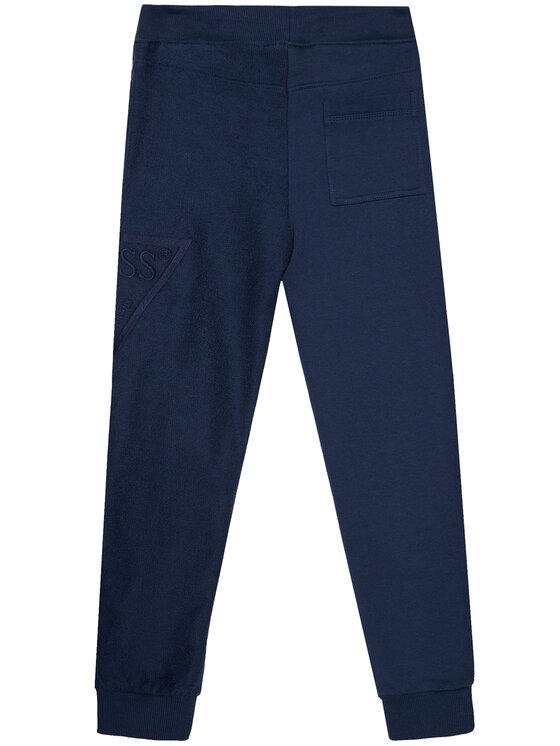 Guess Guess Spodnie dresowe I1RG03 KA6R0 Granatowy Regular Fit