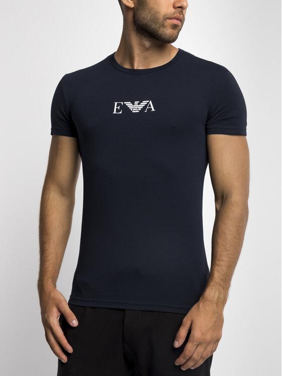 Emporio Armani Underwear Emporio Armani Underwear Marškinėliai 111035 9P715 00135 Tamsiai mėlyna Regular Fit