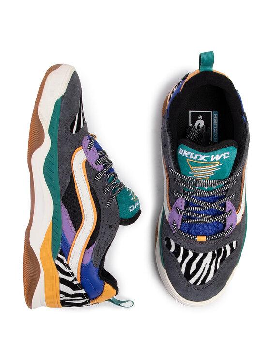 Vans Vans Sneakersy Brux Wc VN0A4BH4V8L1 Szary