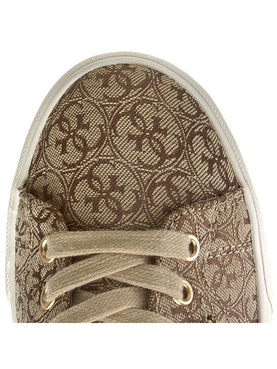 Guess Guess Sneakersy Marline3 FL4MN3 FAL12 Hnědá
