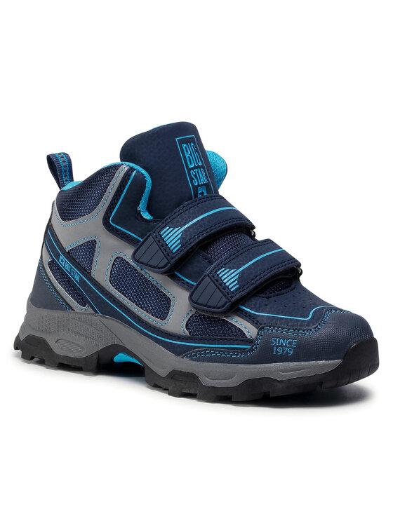 BIG STAR Auliniai batai GG374067 Tamsiai mėlyna