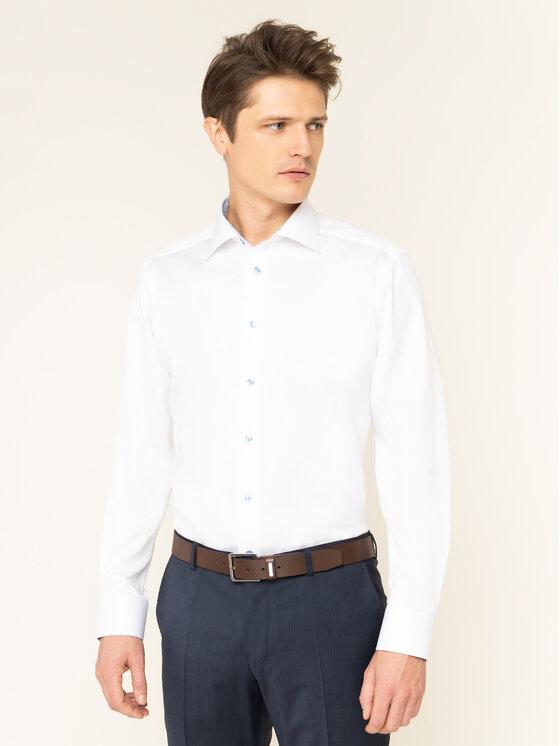 Eton Marškiniai 100000547 Balta Regular Fit