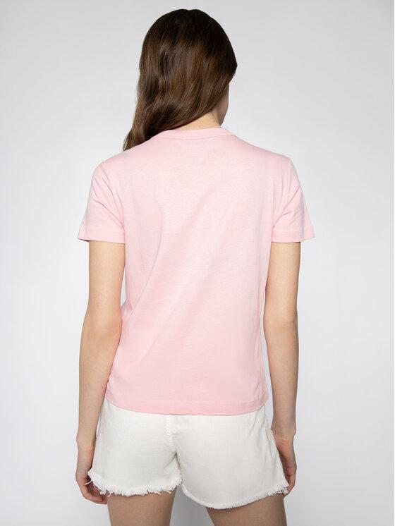 Versace Jeans Couture Versace Jeans Couture Póló B2HVA7X0 Rózsaszín Regular Fit