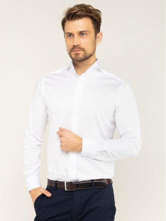 Eton Marškiniai 100000544 Balta Slim Fit