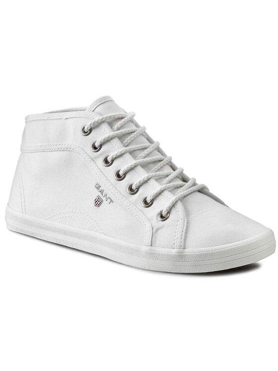 Gant Gant Πάνινα παπούτσια New Haven 10548575 Λευκό