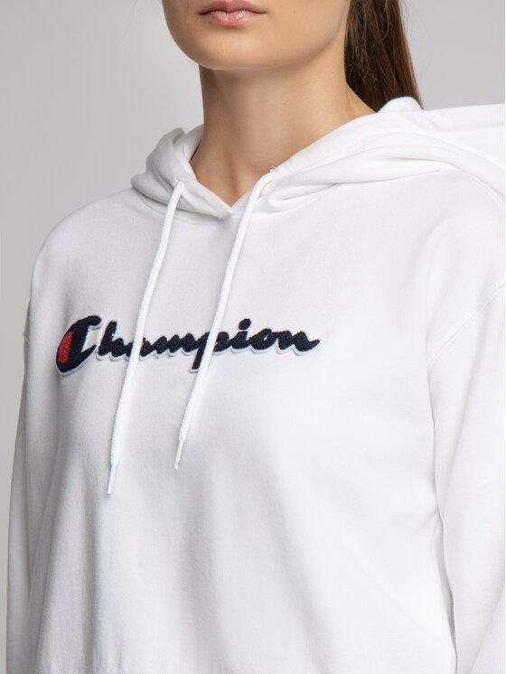 Champion Champion Bluză 111850 Alb Custom Fit