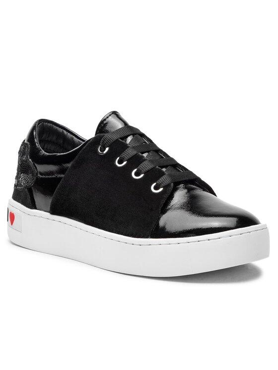 LOVE MOSCHINO LOVE MOSCHINO Sneakersy JA15283G06JE0000 Czarny