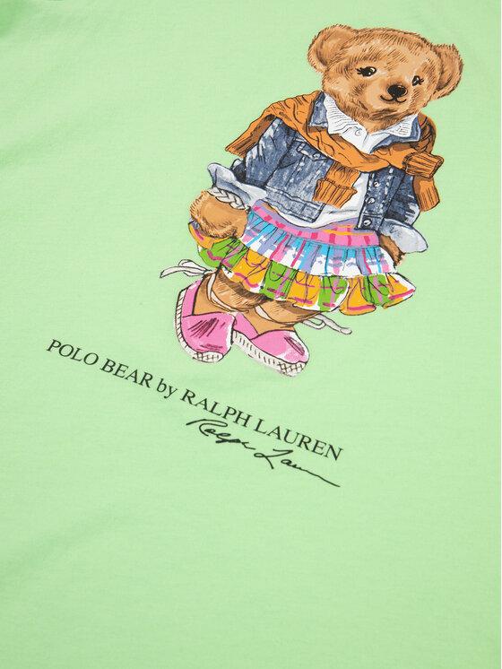 Polo Ralph Lauren Polo Ralph Lauren T-Shirt Spring II 311790408 Zelená Regular Fit