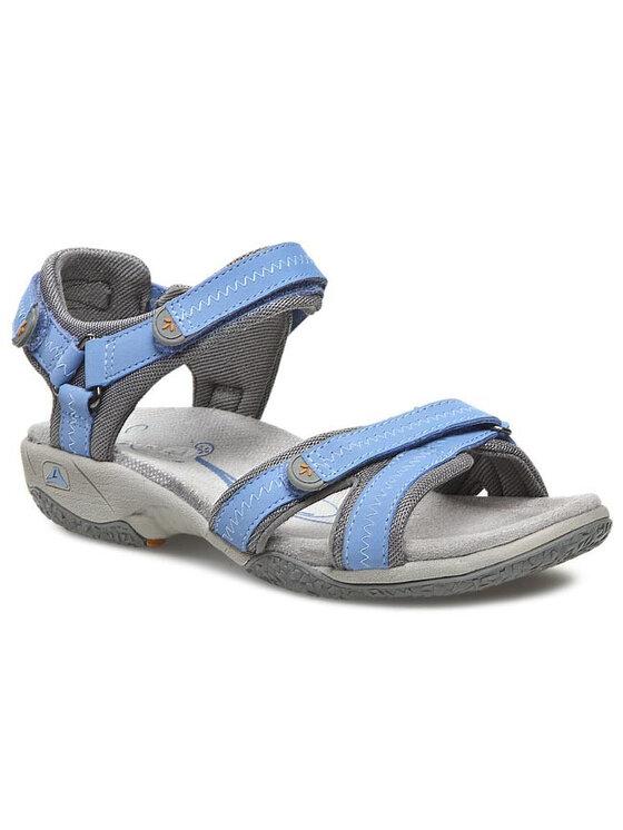 Clarks Clarks Sandalen Isna Pebble 203582854 Blau