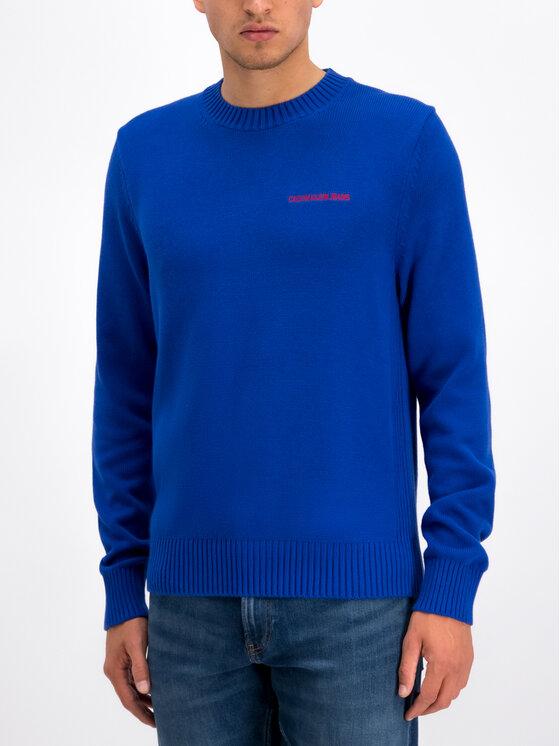 Calvin Klein Jeans Calvin Klein Jeans Pull Instit J30J313480 Bleu Regular Fit