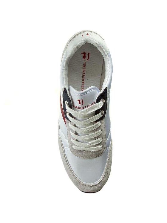 Trussardi Trussardi Jeans Laisvalaikio batai 77S524 Balta