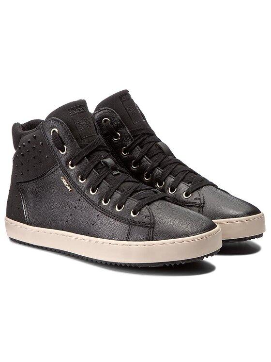 Geox Geox Sneakersy J Kalispera G. E J744GE 0NQAF C9999 D Čierna