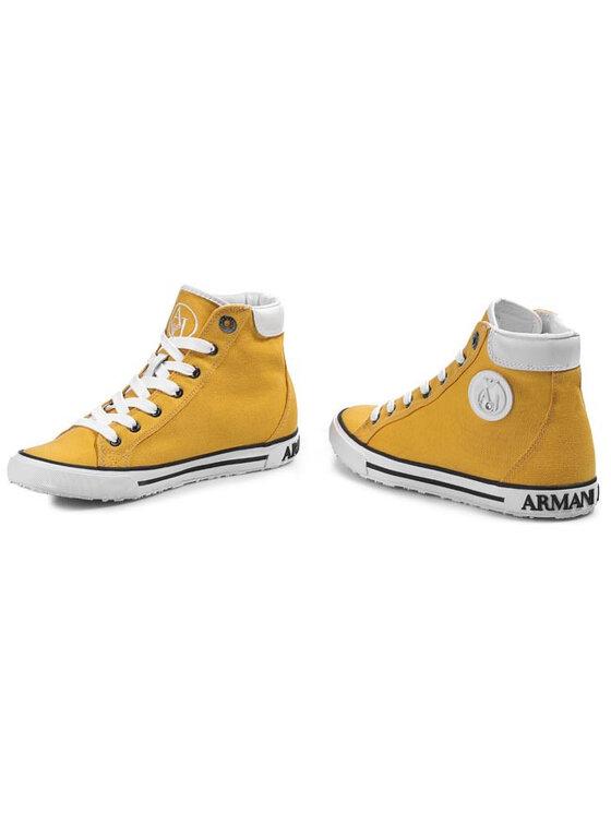 Armani Jeans Armani Jeans Sportbačiai V5506 32 39 Geltona