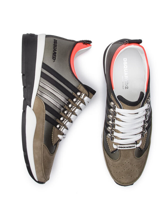 Dsquared2 Dsquared2 Sneakersy 251 SNM0101 71800001 M822 Zelená