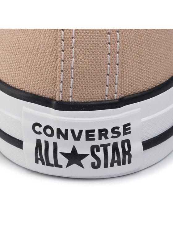Converse Converse Sportbačiai Ctas Ox 164938C Smėlio