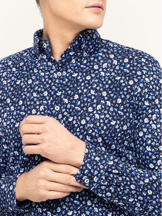 Polo Ralph Lauren Polo Ralph Lauren Marškiniai Featherweigh 710781390 Tamsiai mėlyna Regular Fit