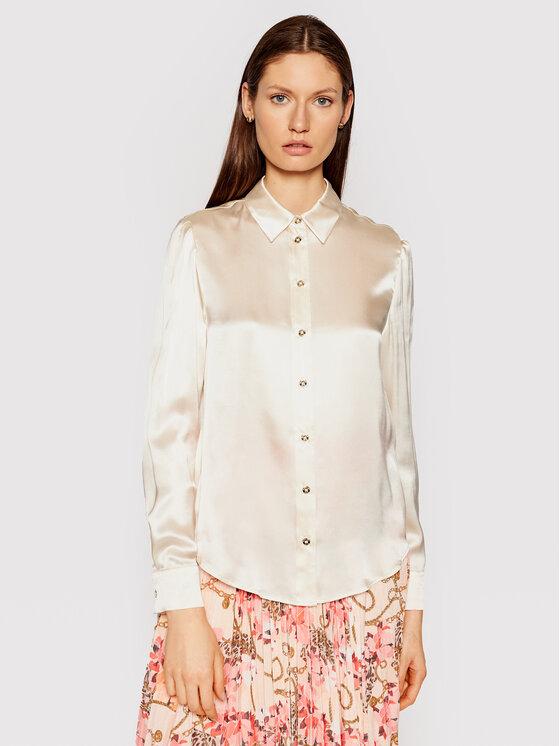 Marciano Guess Marškiniai 1GG456 9457Z Smėlio Regular Fit