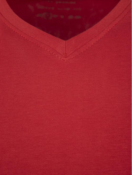 Guess Guess T-Shirt M92I08 J1300 Κόκκινο Super Slim Fit