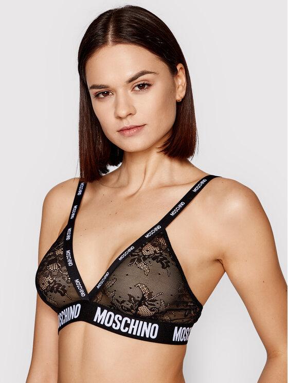 MOSCHINO Underwear & Swim Braletė liemenėlė ZUA4628 9024 Juoda