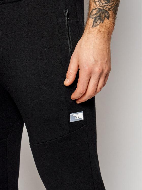 Jack&Jones Jack&Jones Spodnie dresowe Will Air Sweat Noos 12184970 Czarny Regular Fit