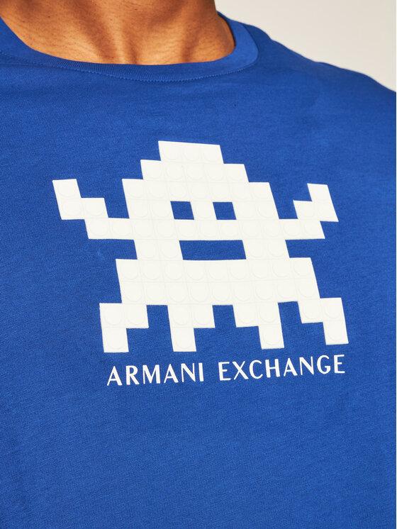 Armani Exchange Armani Exchange T-Shirt 6HZTFD ZJH4Z 1506 Tmavomodrá Regular Fit
