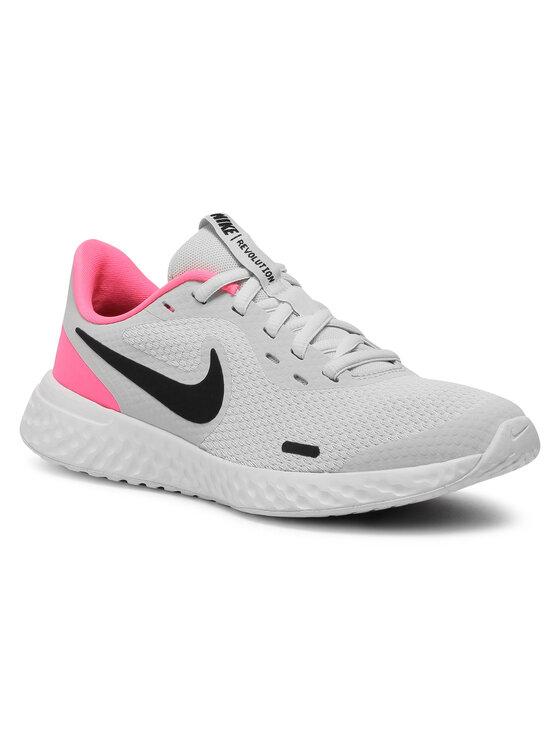 Nike Nike Buty Revolution 5 (GS) BQ5671 010 Szary