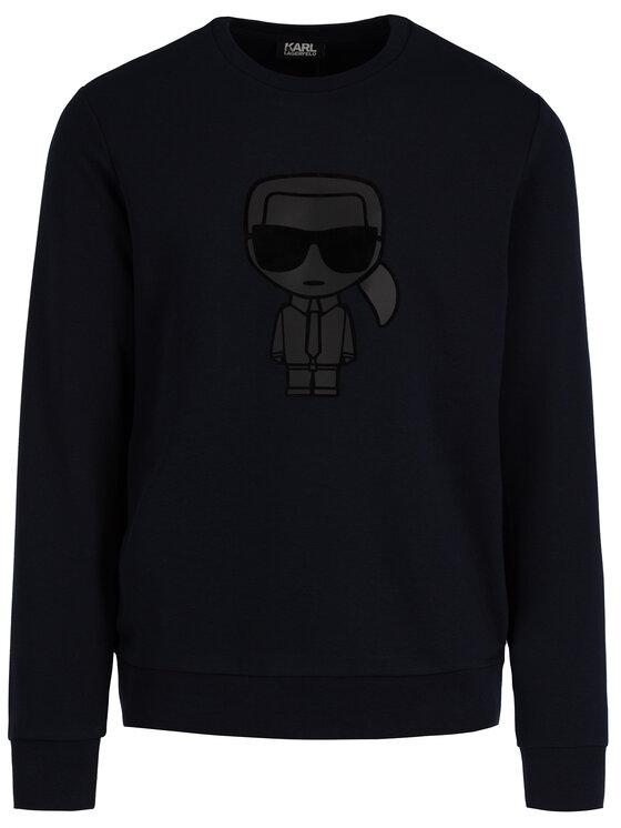 KARL LAGERFELD KARL LAGERFELD Sweatshirt 705081 592910 Bleu marine Regular Fit