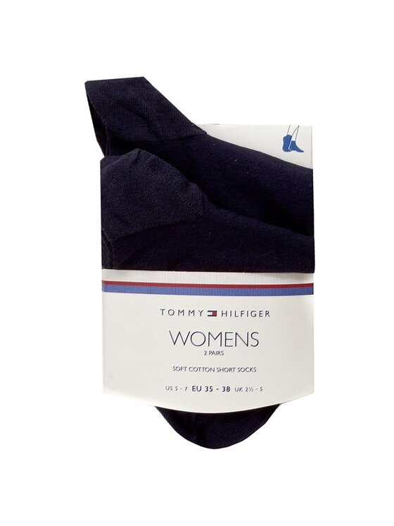 Tommy Hilfiger Tommy Hilfiger Chaussettes basses femme 363002001 Bleu marine