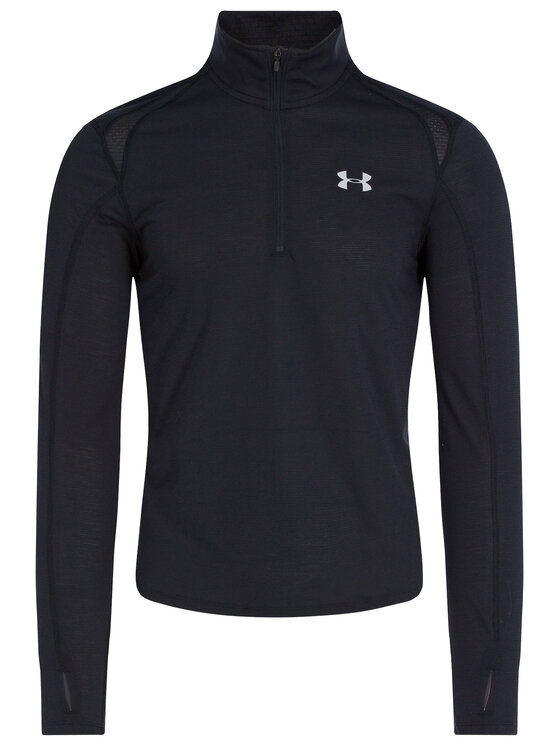 Under Armour Under Armour Felpa tecnica Ua Streaker ½ Zip 1326585 Nero Fitted Fit