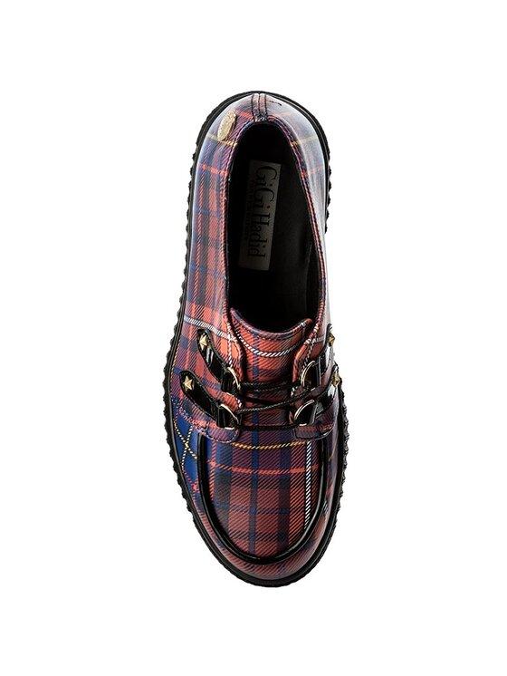 TOMMY HILFIGER TOMMY HILFIGER Félcipő Gigi Hadid Creeper Shoe FW0FW02200 Piros