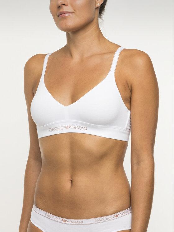 Emporio Armani Underwear Emporio Armani Underwear Braletė liemenėlė 163945 9A263 00010 Balta