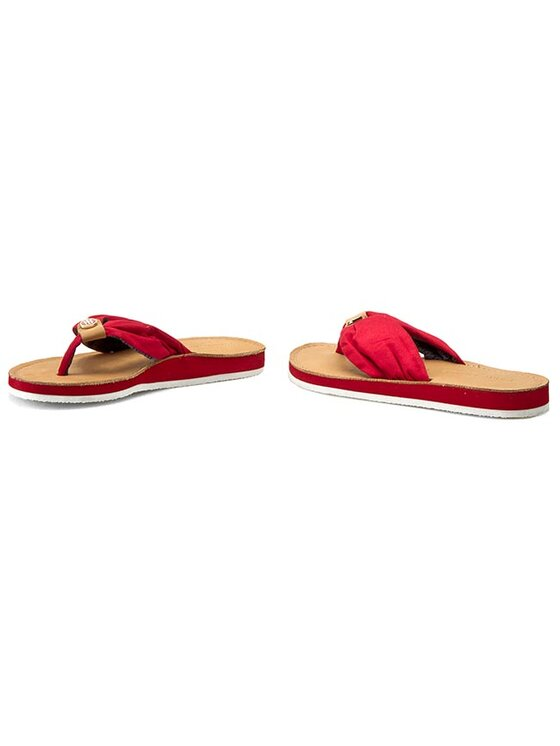 Tommy Hilfiger Tommy Hilfiger Infradito Monica 14D FW56820724 Rosso