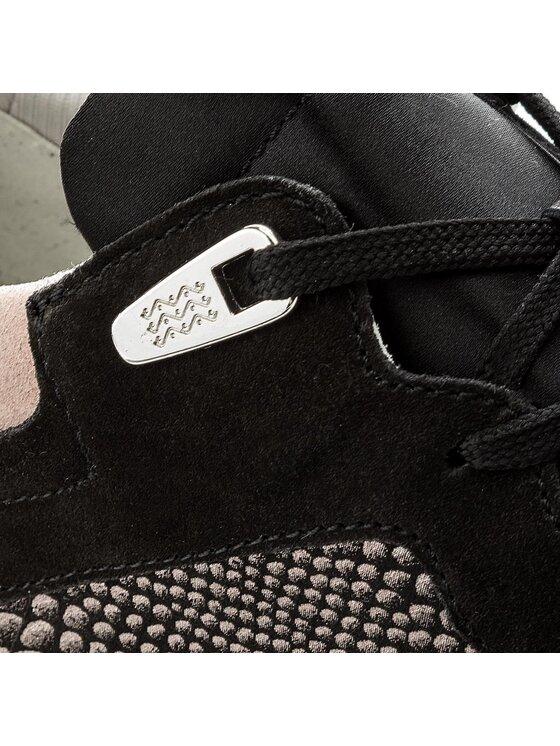 Geox Geox Sneakersy D Shahira B D62N1B 085DC C9999 Černá