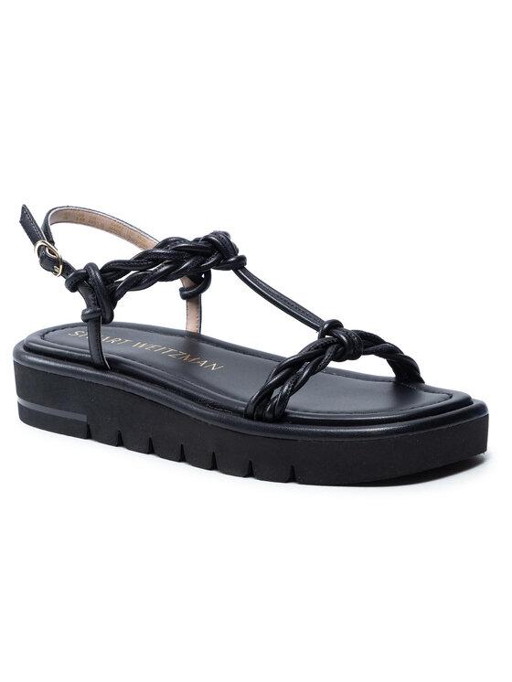 Stuart Weitzman Basutės Calypso Lift Sandal S4562 Juoda