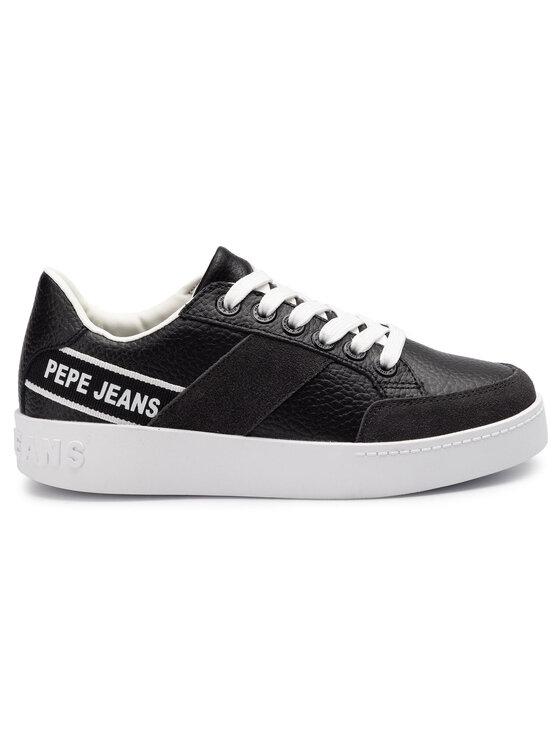 Pepe Jeans Pepe Jeans Сникърси Brixton Tape PLS30891 Черен