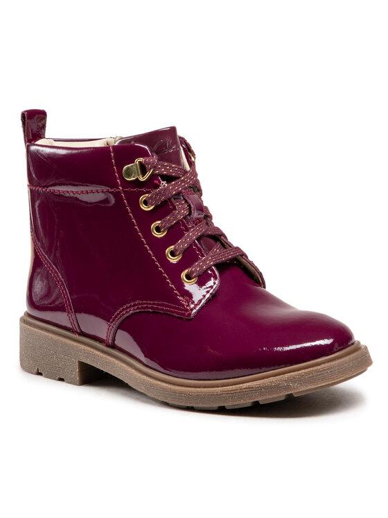 Clarks Auliniai batai Astrol Lace K 261526896 Violetinė